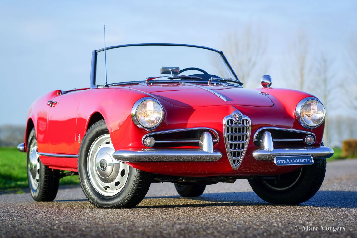 alfa romeo giulietta 1300 spider 1958 classicargarage fr. Black Bedroom Furniture Sets. Home Design Ideas
