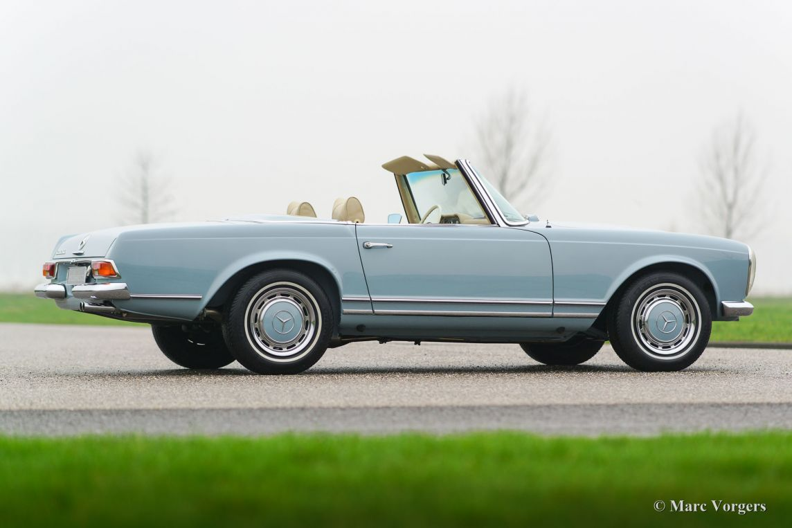 Mercedes benz 280 sl 39 pagode 39 1970 classicargarage fr for Mercedes benz sl 280