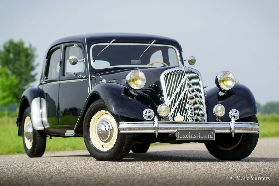citro n 15 six traction avant 1951 classicargarage fr. Black Bedroom Furniture Sets. Home Design Ideas