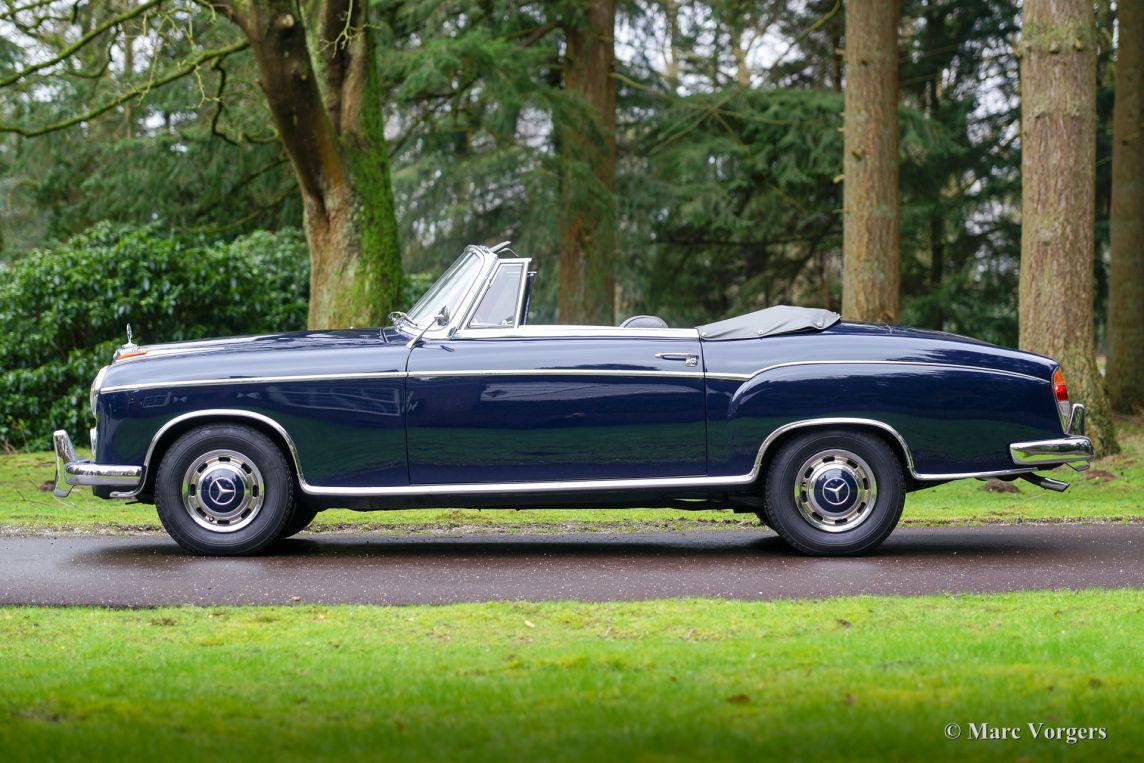 mercedes benz 220 se cabriolet 1961 classicargarage fr. Black Bedroom Furniture Sets. Home Design Ideas