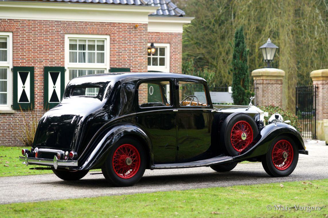 Rolls Royce 25 30 Sports Saloon 1937 Classicargarage Fr