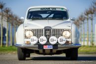 Saab 96 V4 De Luxe rally car, 1968
