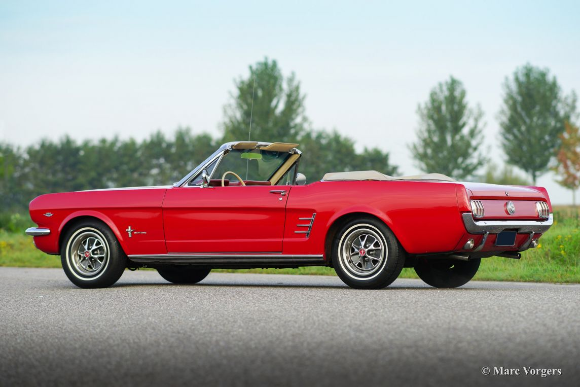 ford mustang convertible 1966 classicargarage fr. Black Bedroom Furniture Sets. Home Design Ideas
