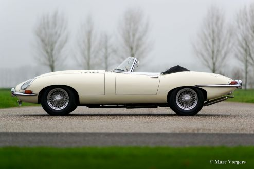 Jaguar E-Type 3.8 Litre roadster, 1962