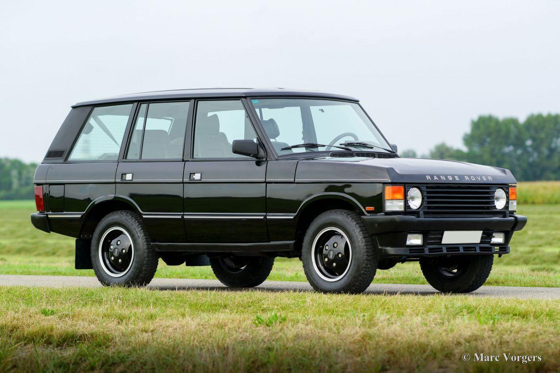 range rover vogue se 1990 classicargarage fr. Black Bedroom Furniture Sets. Home Design Ideas