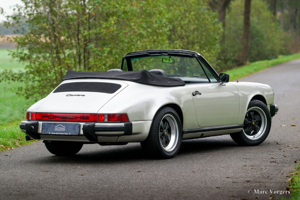 porsche 911 carrera 3 2 cabriolet 1984 classicargarage fr. Black Bedroom Furniture Sets. Home Design Ideas