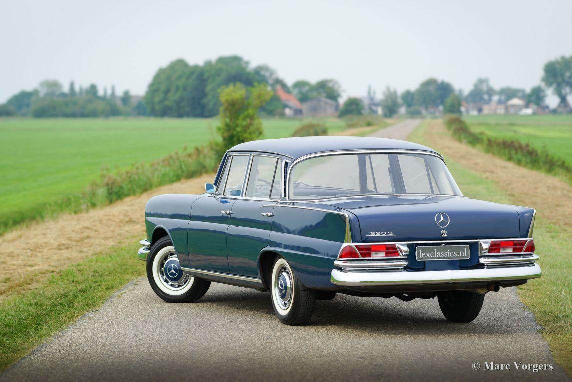 Mercedes benz 220 s 1964 classicargarage fr for 1964 mercedes benz
