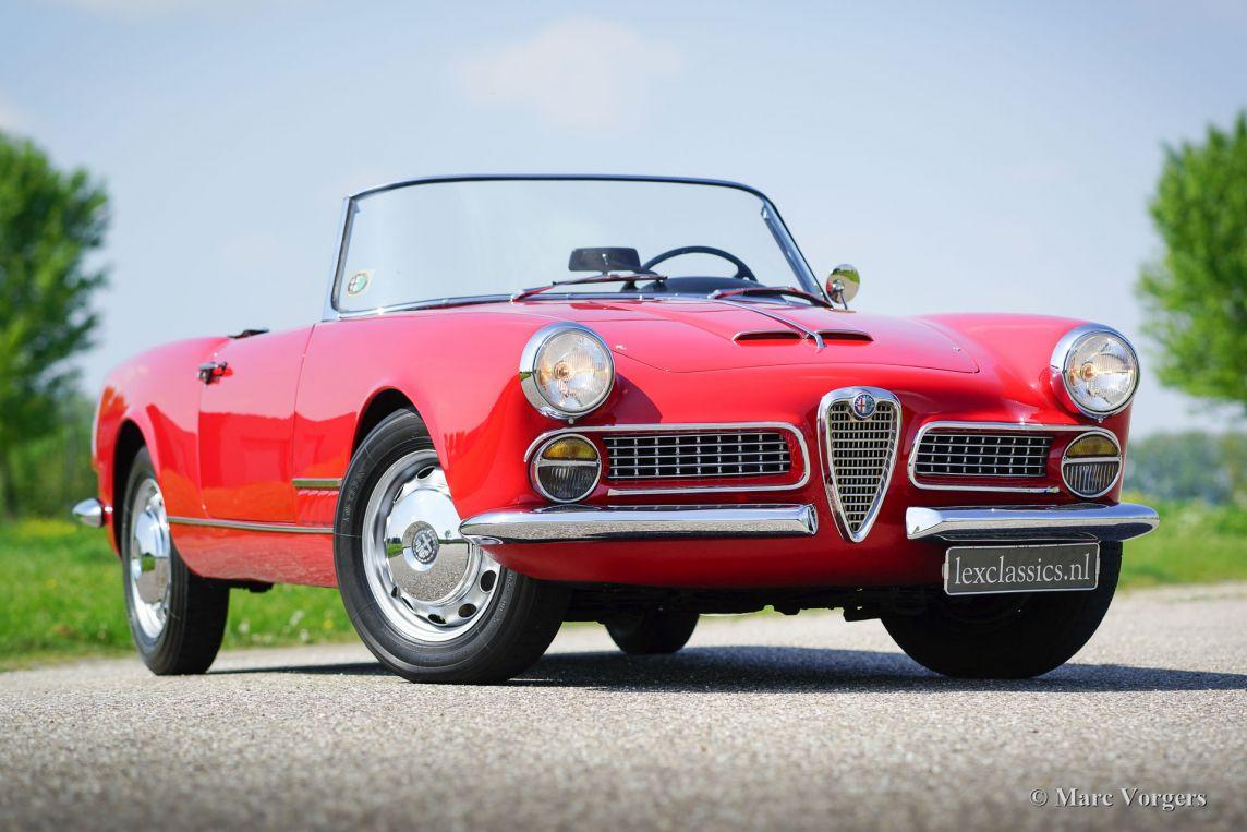 Alfa Romeo Spider Cc Bbb