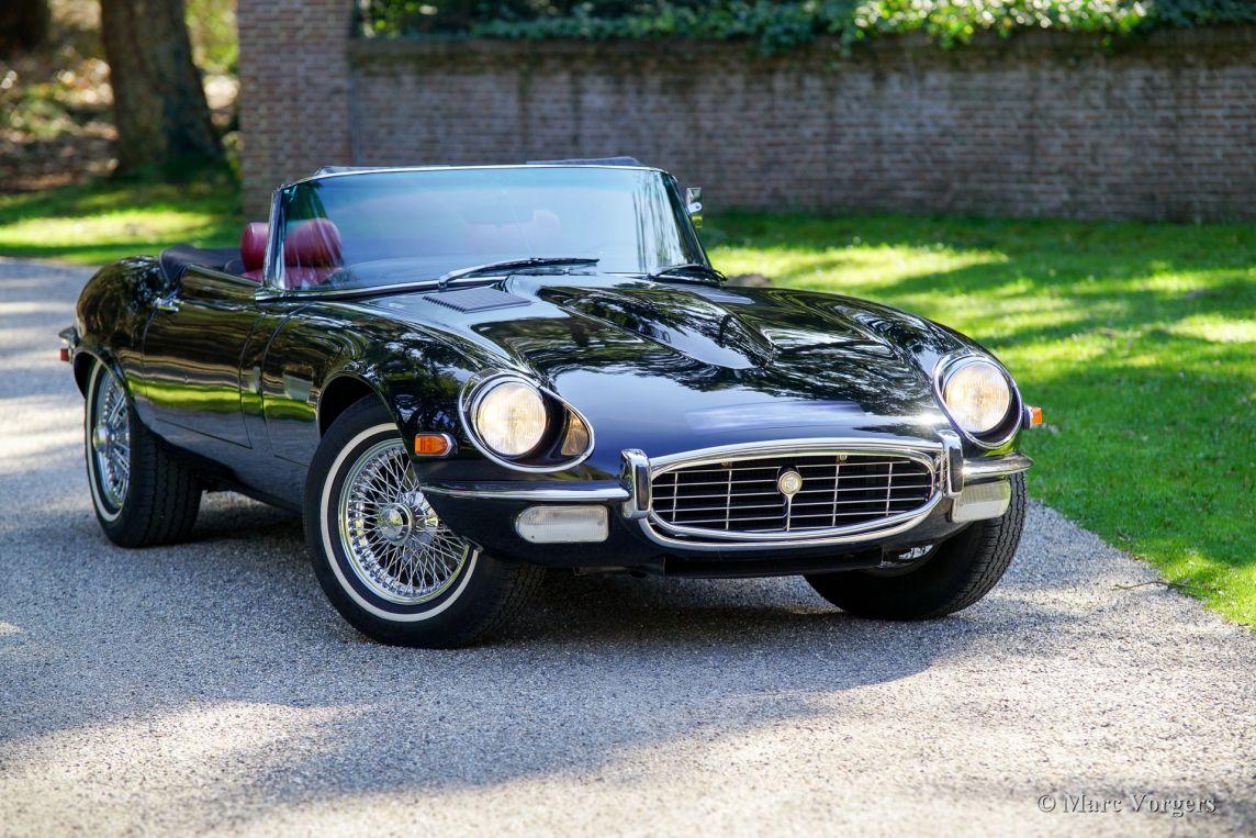 Jaguar 2018 Xj >> Jaguar E-type V12 roadster, 1971 - Classicargarage - FR