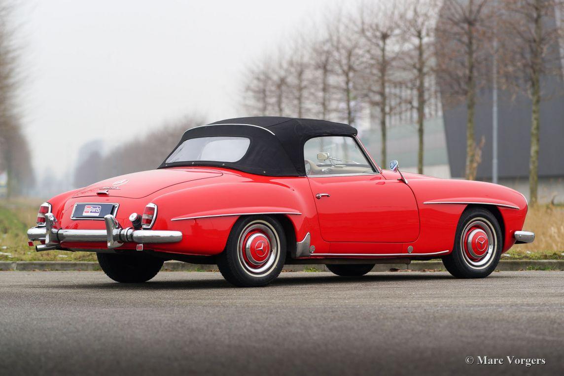 Mercedes benz 190 sl 1962 classicargarage fr for Mercedes benz sl 190