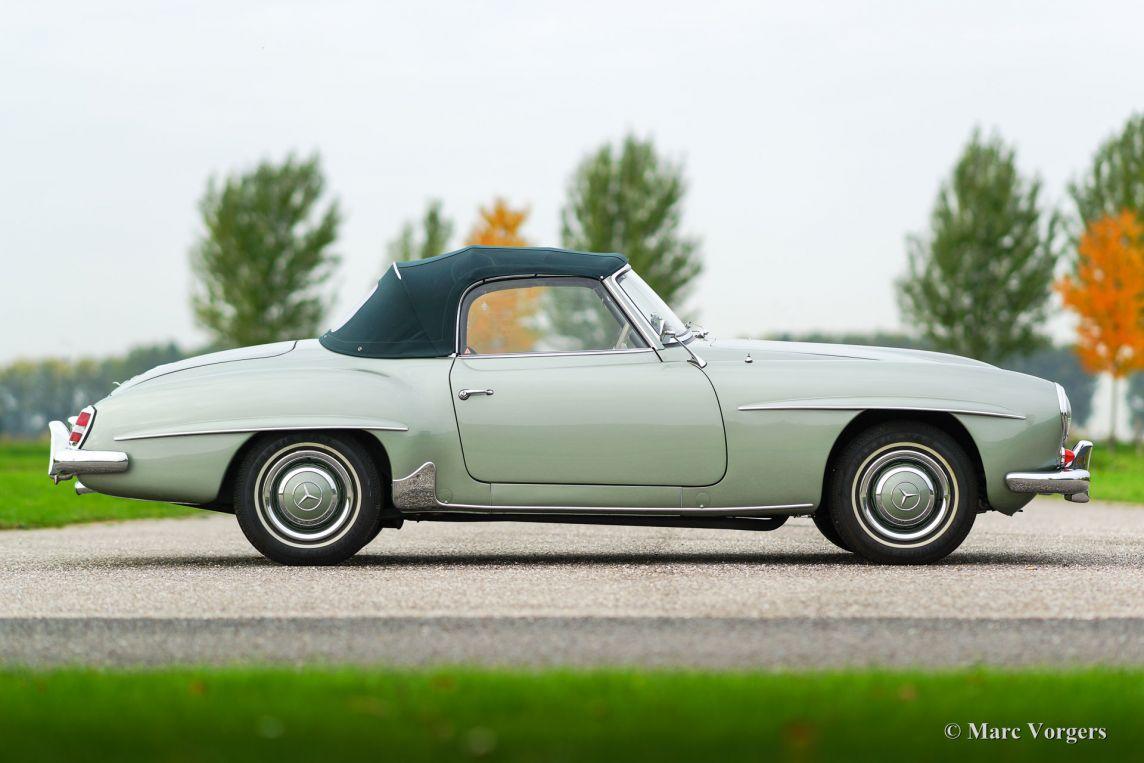 Mercedes benz 190 sl 1958 classicargarage fr for Mercedes benz fayetteville ar