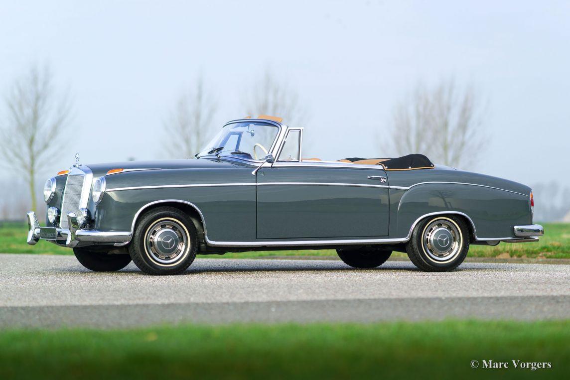 Mercedes Benz 220 Se Cabriolet 1960 Classicargarage Fr
