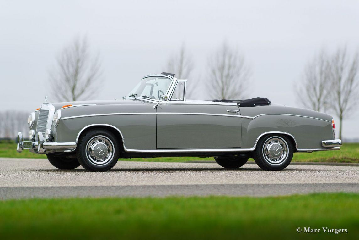 mercedes benz 220 se cabriolet 1959 classicargarage fr. Black Bedroom Furniture Sets. Home Design Ideas