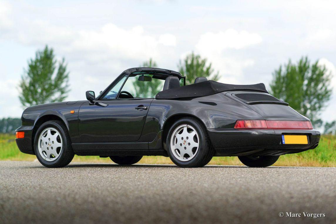 porsche 911 cabriolet 1991 classicargarage fr. Black Bedroom Furniture Sets. Home Design Ideas