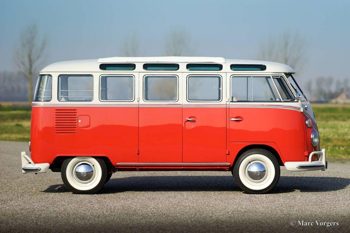 Volkswagen t1 samba bus 1963 classicargarage fr for Garage volkswagen paris 13