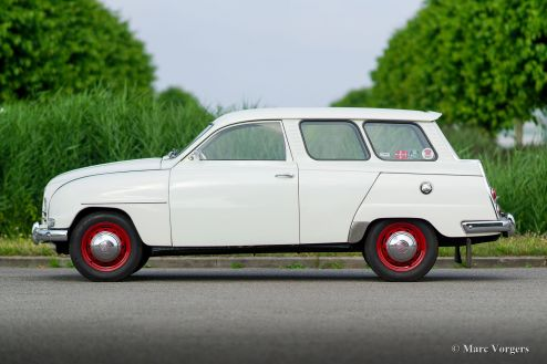 Saab 95 'two-stroke' station wagon, 1964