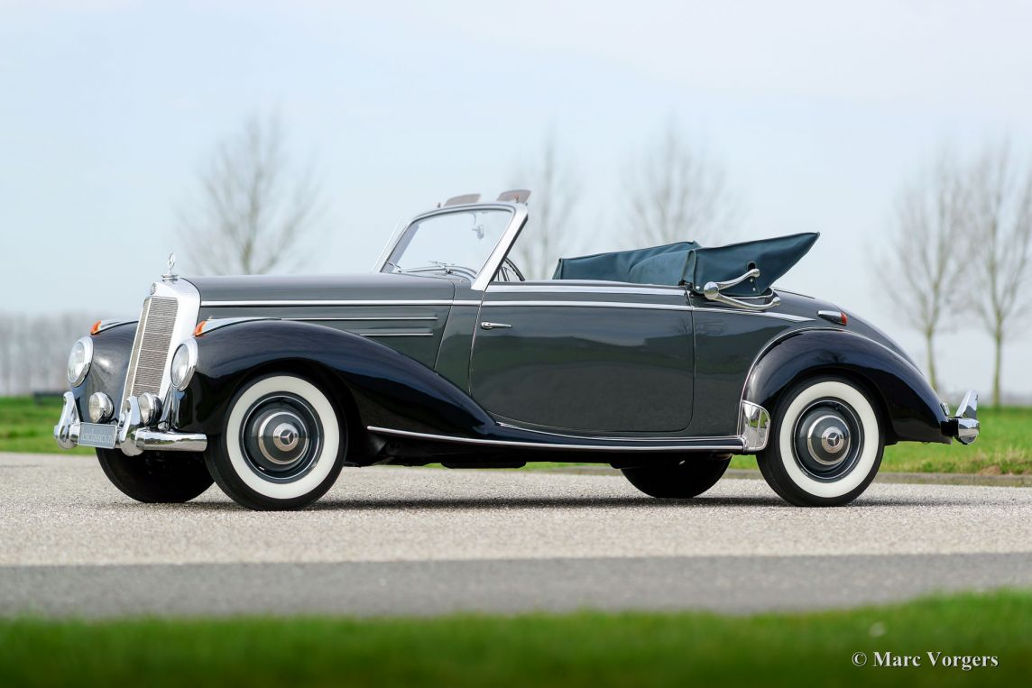 Mercedes benz 220a cabriolet 1953 classicargarage fr for 1953 mercedes benz