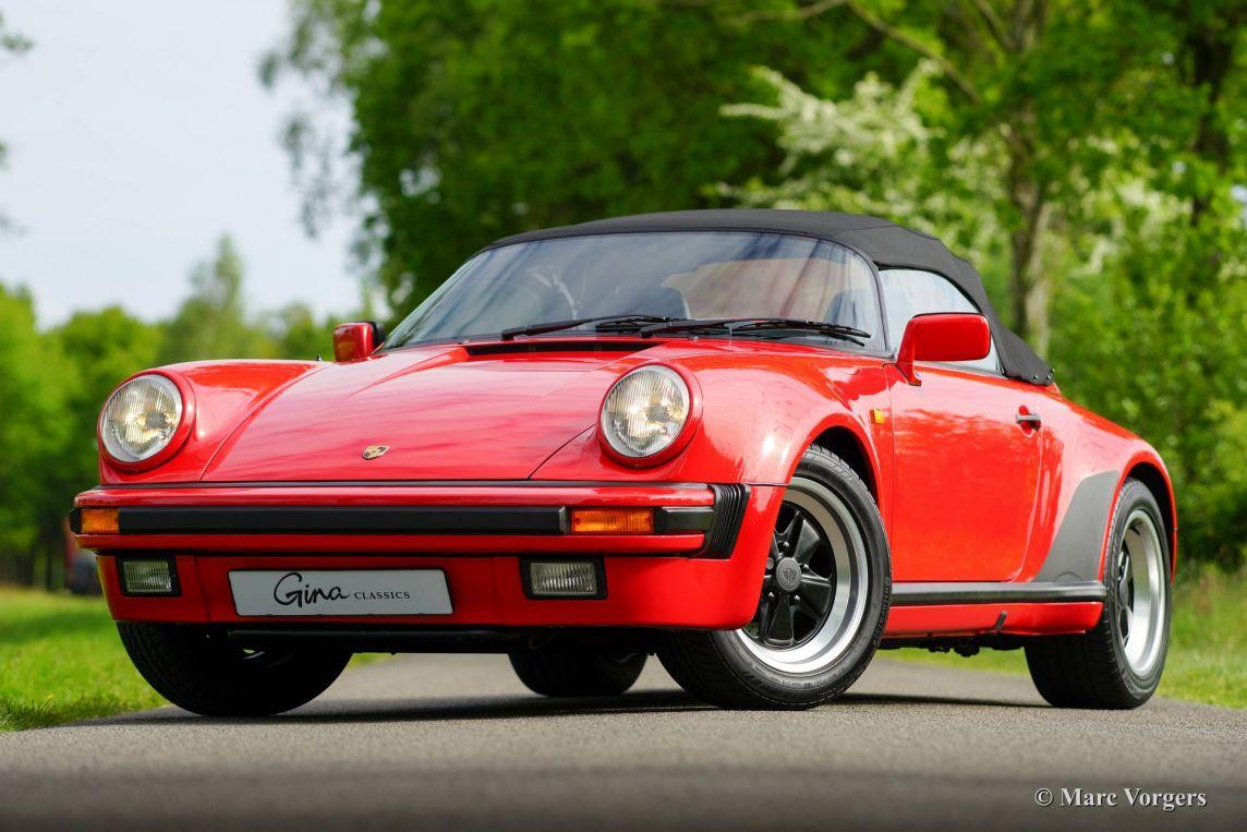 Porsche 911 Speedster 3 2 1989 Classicargarage Fr